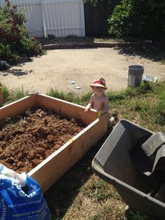 Building Raised Beds!
