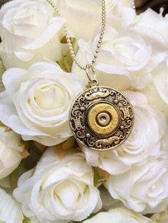 Items similar to Silver Scrollwork 45 Caliber Bullet Necklace on Etsy Bullet Necklace, Bullet Jewelry, Washer Necklace, Bullet Shell, Bullets, Blacksmithing, Jewelery, Shells, Unique Jewelry