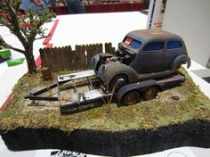 ModlGuy 2014 LIARS Model Show - Lost Ford Diorama