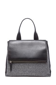 GIVENCHY Medium Pandora Flap Bag in Dark Grey  6acd27b0fd861