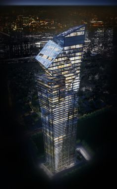 "Libeskind Breaks Ground on 60-Story ""Century Spire"" in Philippines"