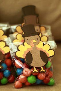 WIP Blog: Thanksgiving Treat Bags