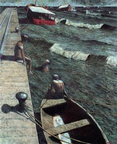 Outstanding - Armando Morales Title unknown, c 1980 Latin Artists, Museum Of Modern Art, Color Theory, Country Life, Art Quotes, Contemporary Art, American Art, Image, Boats