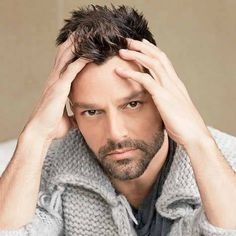 Your Daily Dose of Ricky Martin Puerto Rican Singers, Pop Musicians, Rick Y, Celebs, Celebrities, Man Crush, Beautiful Men, Actors, Handsome Guys