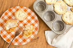 Muffin Tin Fruit Pie