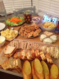Saturday night buffet