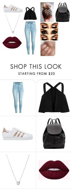 """Fairground"" by hollieh14 on Polyvore featuring River Island, adidas Originals, Witchery and Links of London"