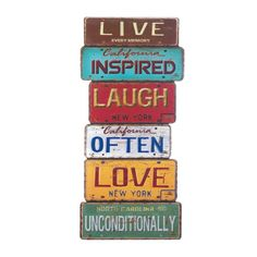Life Inspiration Wall Decor – Hearts Attic