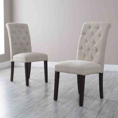 Decorate your house using parsons chairs Amazing Morgana Tufted Parsons Dining Chair - Set of 2 - Dining Chairs parsons dining chairs Dining Room Design, Dining Chairs, Upholstered Dining Chairs, Chair Design, Tufted Dining Room Chair, Dining Room Sets, Parsons Dining Chairs, Dining Room Console, Dining Room Table