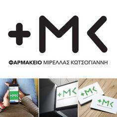 Υποδεχόμαστε την άνοιξη και σας παρουσιάζουμε την νέα οπτική ταυτότητα που ετοιμάσαμε για το Φαρμακείο Μιρέλλας Κωτσόγιαννη. Ευχαριστούμε την Kα Kωτσόγιαννη για την πάντα άψογη συνεργασία! #pharmacylogo #visualidentity Id Design, Graphic Design, Creative Suite, Jobs Apps, Online Portfolio, Pharmacy, Branding, Logos, Brand Management