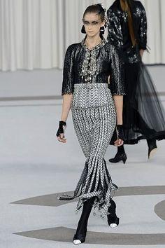 Chanel Spring 2007 Couture Fashion Show - Daiane Conterato (Elite)