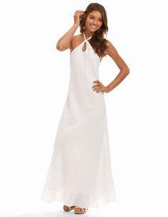 80bc65af34 New 3 Examples White Beach Dresses for Weddings Resort Wear For Women, Long  Wedding Dresses