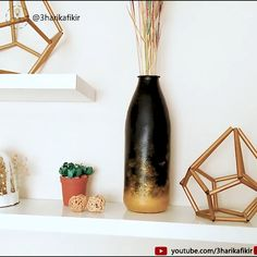 Diy Room Decor with Plastic Bootle – Room Decor Ideas – Recycle – Geri Dönüşüm Diy Room Decor Videos, Diy Crafts For Home Decor, Diy Home Decor Bedroom, Diy Crafts Hacks, Room Ideas Bedroom, Easy Diy Projects, Cute Diy Room Decor, Decorating Blogs, Diy Furniture