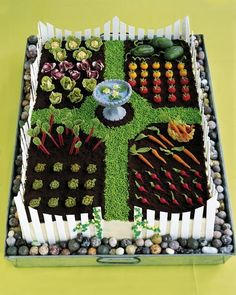 Clay vegetable gardens?