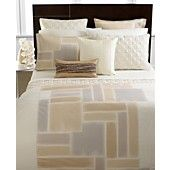 CLOSEOUT!!+Hotel+Collection+Bedding,+Brushstroke+Full/Queen+Duvet+Cover