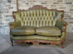 country french parlor | Antique French Leather Parlor Set - Seating - The Collection - Default ...