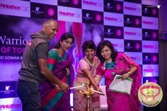 "Presented by JW Marriott Kolkata, in accordance with the spirit of Pinkathon, ""Walking Warriors- The Women of Today"" was held recently."