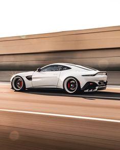Aston Martin Vantage, Aston Martin Cars, Aston Martin Lagonda, Mustang Tuning, Car Goals, Cars And Coffee, Futuristic Cars, Car Photography, Sport Cars