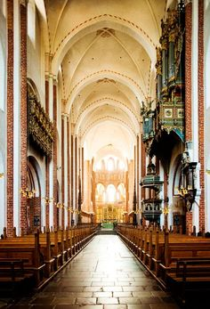 Roskilde Cathedral in Denmark ! An amazing place filled with history...
