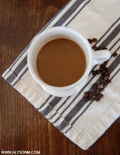 Pumpkin Spice Coffee Creamer : A clean and simple recipe.