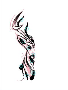 In this tutorial we are going to draw a deer with custom Art Brushes, Graphic Styles and Blends in Adobe Illustrator, all of them created by us, so let's get started. Step 1 First we start by. Adobe Illustrator Tutorials, Photoshop Illustrator, Graphic Design Tutorials, Graphic Design Inspiration, Effects Photoshop, Custom Art, Vector Graphics, Illustration Art, Brushes