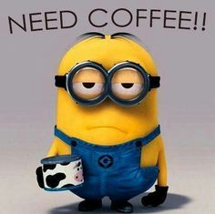 Coffee and a minion