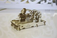 Mechanical Engine Wooden Self Assembly Kit Ugears