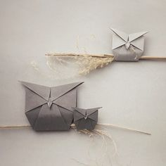 My Owl Barn: Adorable Origami Animals With Everyday Objects