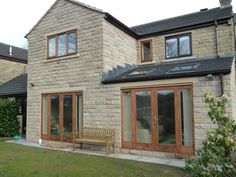 Modern Home Rear Extension, Holmfirth Edwardian House, Victorian Terrace, Victorian Homes, House Extension Design, Cottage Extension, Architectural Technologist, Rear Extension, Extension Ideas, Roof Lantern