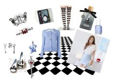 """""""Alice"""" by kayak88 on Polyvore featuring Torrid, Melissa, Olympia Le-Tan, Essie and Thierry Mugler"""