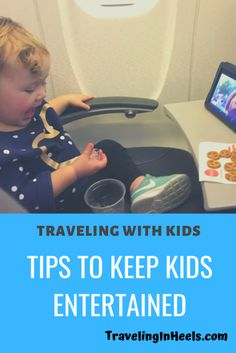 Traveling with Kids -- tips to keep kids entertained Entertainment Traveling with Kids? 3 Tips to Keep Them Entertained - Traveling in Heels Toddler Travel, Travel With Kids, Family Travel, Vegas Hotel Deals, Croatia Travel Guide, Hotels For Kids, Travel Forums, Going On Holiday, Traveling With Baby