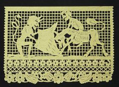 """""""In Mexico, papel picado (perforated paper), refers to the traditional art of decorative cut paper banners. Papel picado are usually cut with sharp fierritos (small chisels) from as many as fifty layers of colored tissue paper at a time. Designs may incorporate lattice-work, images of human and animal figures, flowers, and lettering. Many papel picado are made especially for the Mexican festival of the Days of the Dead and include skeletal figures engaged in the everyday activities of the…"""
