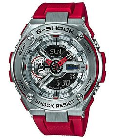 37bb50e7172 Casio Men s G-Shock G-Steel Watch Stainless Digital Analog