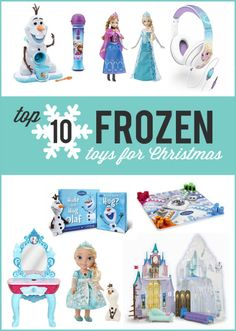 Frozen is all the rage and these are our picks for the best 10 Frozen toys for your kids this Christmas!