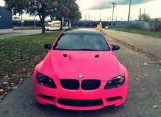 I've been begging my boyfriend to do his BMW in pink (;