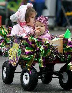 Mardi Gras Parade wagon
