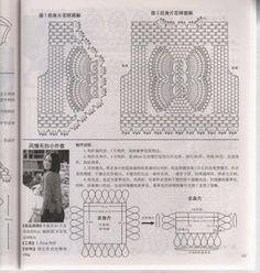 CARAMELO DE CROCHET: chalequito japonés