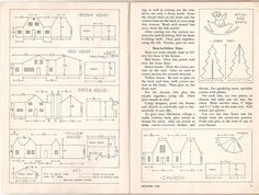 Image result for Putz House Pattern