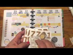 Project Life Happy Planner combined for this weeks Plan with Me at Beauty and the Stamper - Jean Piersanti - Independent Stampin' Up! Demonstrator