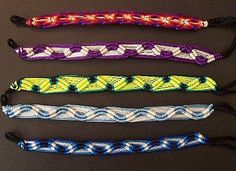How to Make a Striped Woven Friendship Bracelet