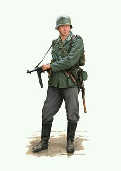 German Soldier WW2