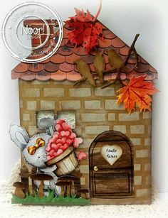 Dutch Doobadoo Card Art huis