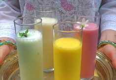 Indian Lassi Party: Cooling Down with Mango, Rose, Melon and Cucumber