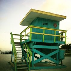 Lifeguard -house Miami Beach