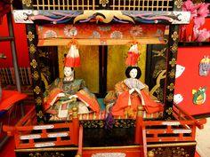 Katsuura Big Hinamatsuri 15   by HAMACHI! Hina Dolls, Heian Period, March 3rd, Girl Day, Doll Crafts, Traditional Art, Japanese, Disney Princess, Disney Characters