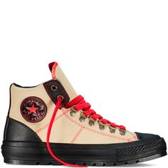 Converse - Chuck Taylor All Star Street Hiker - Papyrus - Hi Top Cool Converse, Converse Chucks, Outfits With Converse, Me Too Shoes, Men's Shoes, Shoe Boots, Shoes Men, Dress Shoes, Sneaker Boots