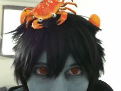 gif homestuck cosplay homestuck cosplay Karkat karkat vantas crab vantas cosplay.viiirus.karkat