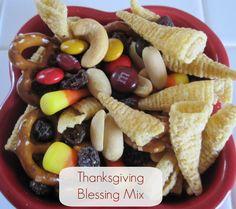 Thanksgiving Blessing Mix #Thanksgiving #Holidays #Recipe