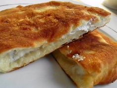 Fried cheese bread