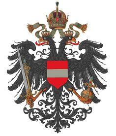 Wappen Österreichische Länder 1915 (Klein) - Hugo Gerard Ströhl – Wikipedia
